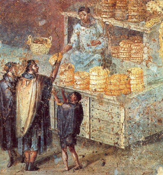 El Matrimonio Romano Evolucion Historica : Historia del pan en roma de la cocina y