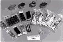 Muestrario de alimentos que tuvo que comer el astronauta John Glenn