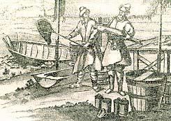 Pesca del esturión en Rusia