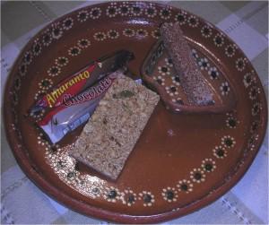 Palanquetas de amaranto (Foto de la autora)