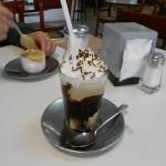 Café expreso y mocachino