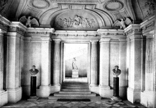 Vestíbulo del château