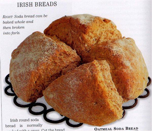 Pan de soda irlandés [10]