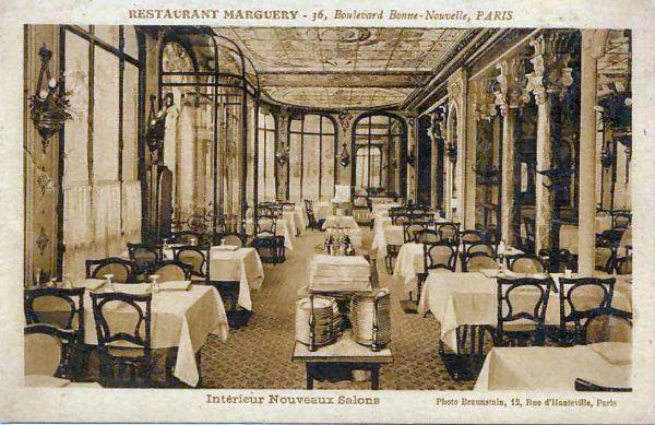 Historia del restaurante merguery un m tico de la for Gastronomia francesa historia