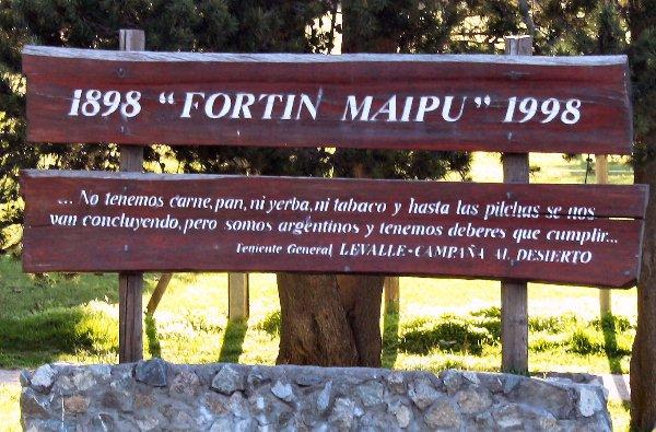 FORTIN MAIPU FOTO PARA CERRAR LA NOTA
