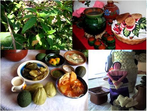Nurite, aguacate, chayote, chile, atole, corundas, churipo (chile guajillo rojo), artesanía michoacana (5)