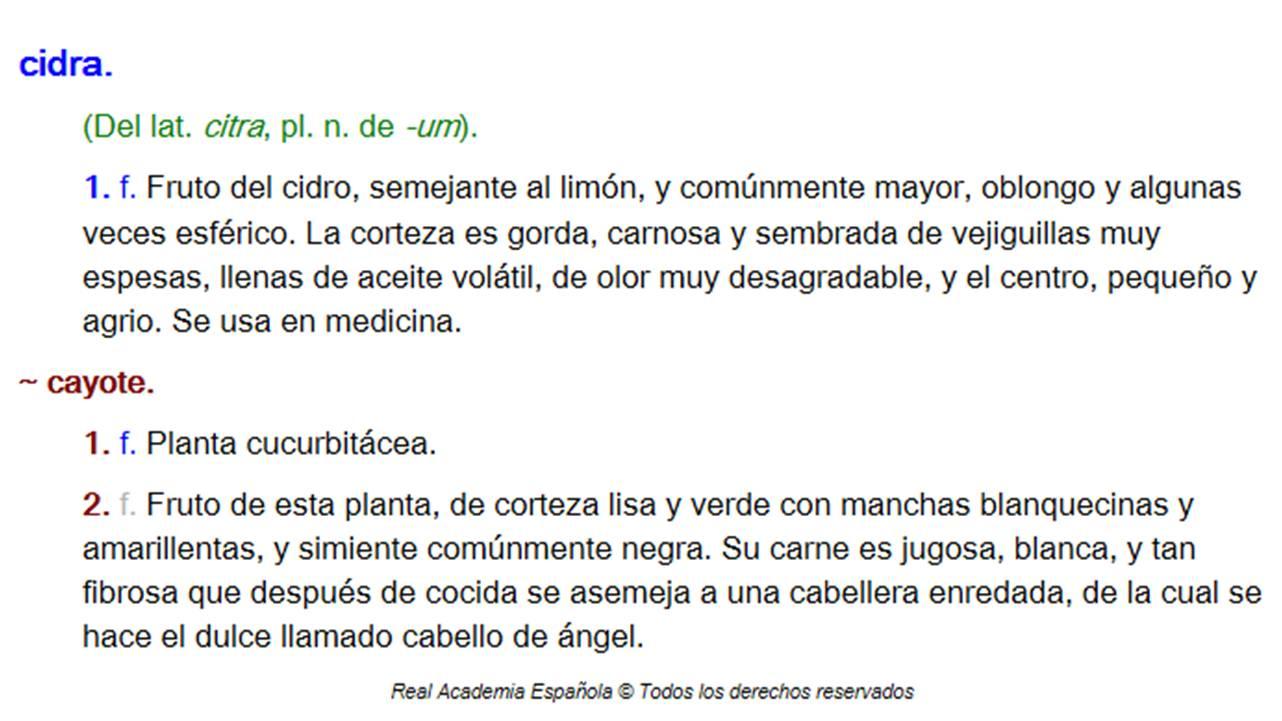 Chilacayote un nombre n huatl un dulce rico historia for Como se dice cocina en ingles