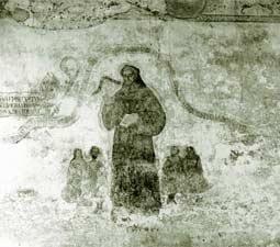 Fray Jacobo Daciano, mural en el ex-convento de Tzintzuntzan (8)