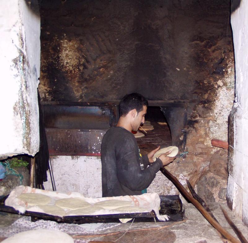 Panadero marroquí. Foto del autor