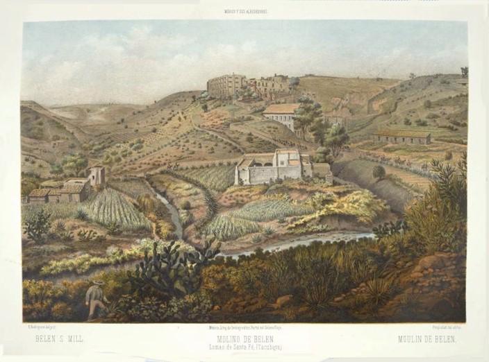 El Molino de Belén, Lomas de Santa Fe (Tacubaya decimonónica) (1)