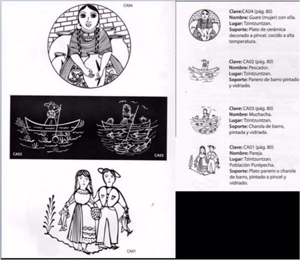 Bellas imágenes de artesanía mostrando pescadores de Tzintzuntzan (7)