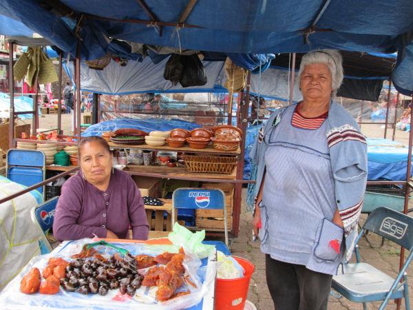 Los dulces de camote, higo y chilacayote de la señora Ana María Rendón Cornelio (Foto de la autora de este escrito)