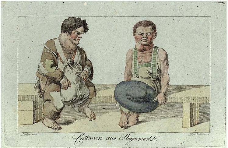 Cretinnen_aus_Steiermark,_1819_gez_Loder,_gest_Leopold_Müller