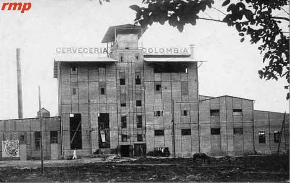 Cervecería Colombia 1925 - Calí - Foto: Biblioteca Departamental Jorge Garcés Borrero