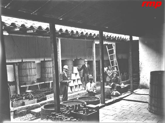 Fábrica de Cervezas Hermanos Vélez 1895 - Medellín - Foto: Melitón Rodríguez