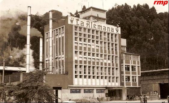 Cervecería Colombo-ALemana 1980 - Foto: Humberto Portilla