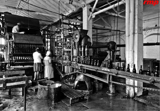 Cervecería Unión S.A. 1930 – Itagüí - Foto: Biblioteca Pública Piloto de Medellín
