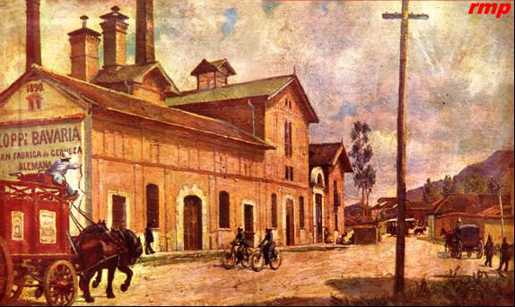 Kopp Bavaria 1900 - Bogotá - Óleo: Bavaria