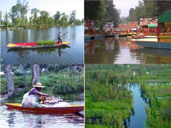 Canales de Canales de Xochimilco, chinampas, chalupas y trajineras [6]
