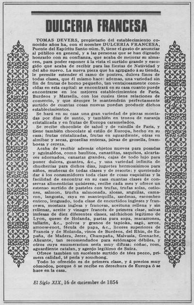 Publicidad de objetos nuevos para posadas y aguinaldos, 1854 [8]