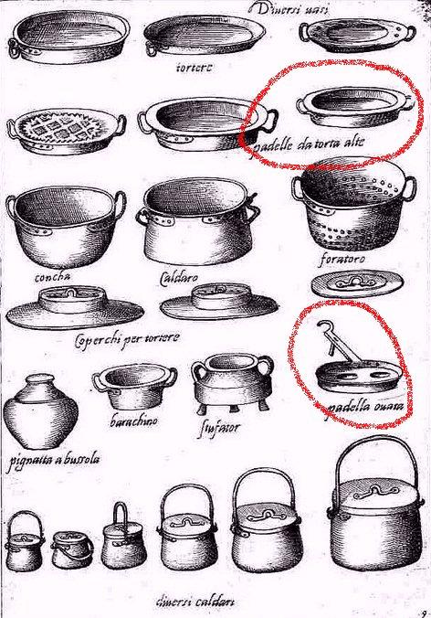 Historia de la paella y historia del arroz for Utensilios de cocina antiguos con nombres