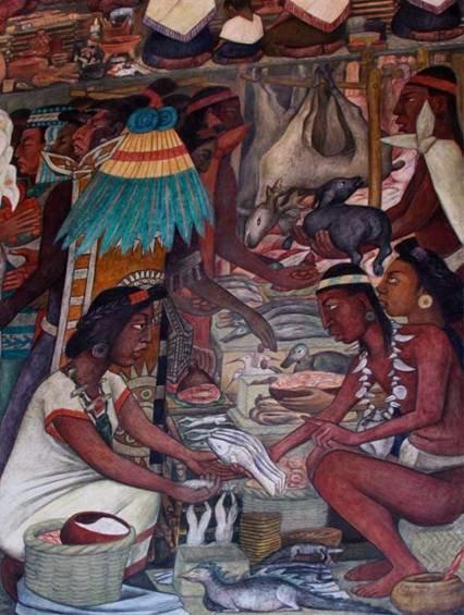 Un breve comentario sobre la historia de los tianguis y los mercados de  México